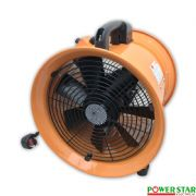 Portable Ventilator Axial Blower Workshop Extractor Fan  with Speed Controller